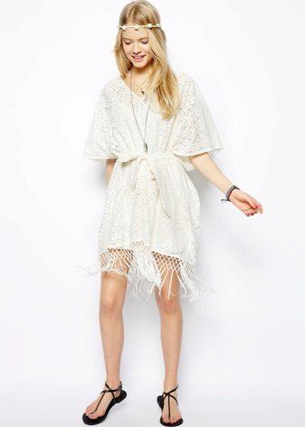 Katoenen kimono-jurk