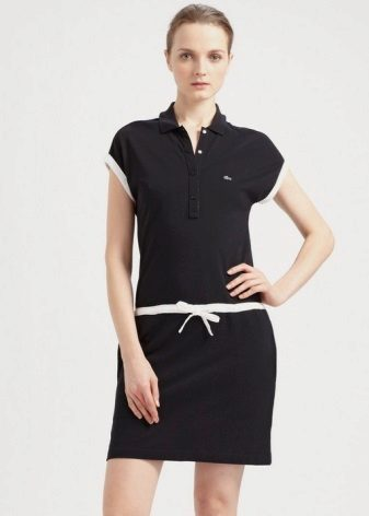 שמלת פולו לנשים עם ירכיים מלאות