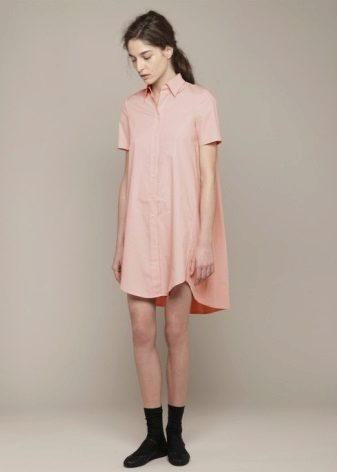 Pakaian lengan pendek baju lurus
