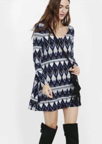 Warme A-lijn jurk