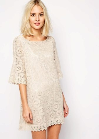 Malaking tunic dress