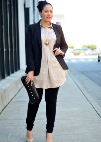 Dress-tunic for full