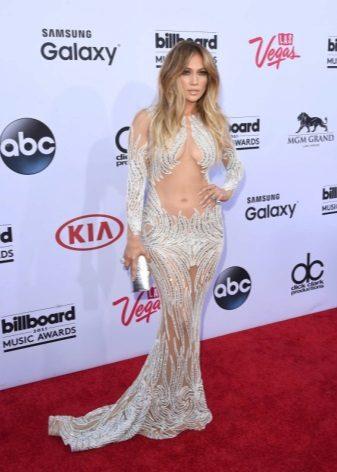 Pear Dress - Jennifer Lopez Kjoler