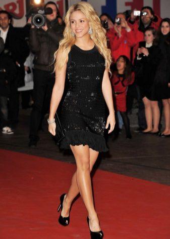 Kjoler til figur som Pære - Shakira