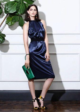 sommar midi klänning
