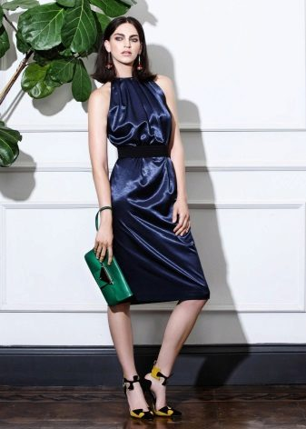 vestido de verão midi