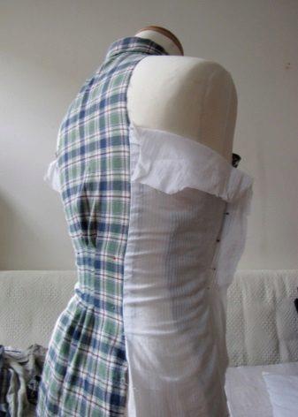 A ruha oldalainak modellezése