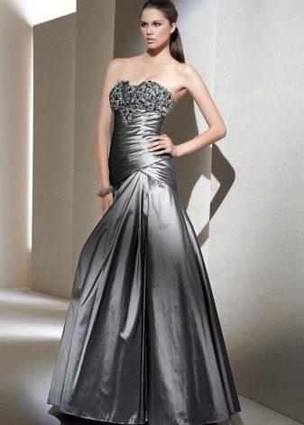 Låg midja Bustier Gown