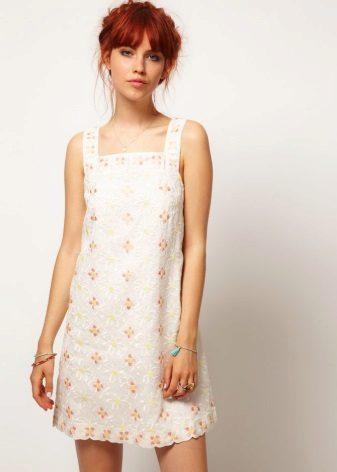 Bomull kjole kjole