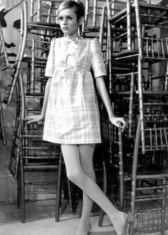 Estilo 60s - vestido Twiggy