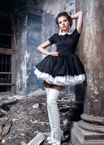 Botas de vestido preto