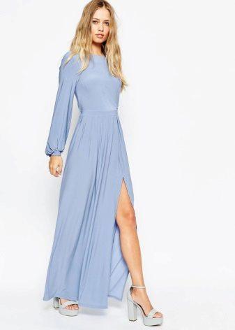 Sinisen mekon pituus lattialle