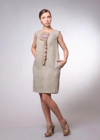 vestido de cambraia para todos os dias