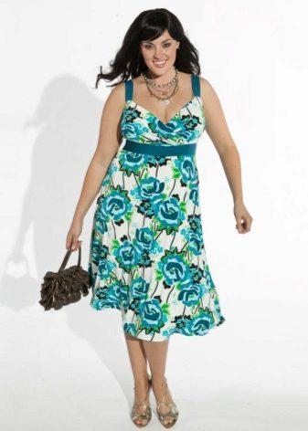 vestido feito de chita grossa