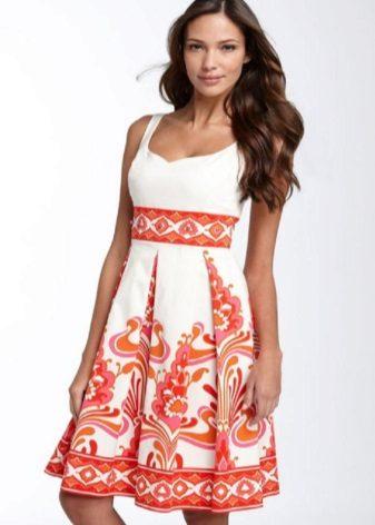 vestido feito de chita
