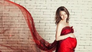 De vackraste klänningarna för gravida kvinnor