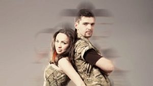 Vestido de camuflagem - estilo militar
