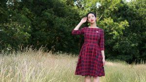 Um vestido xadrez - o que há de especial nisso?