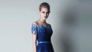 Blå Aften Kjoler