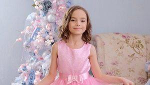 Kalėdinės suknelės mergaitėms
