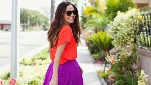 De beste patronen en tailoring rok voor het maken van een proces