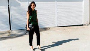 Naisten mustat housut