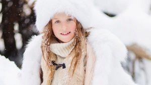 Lasten turkikset luonnonmukaisesta turkista