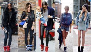 Sapatilhas na moda