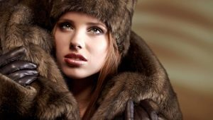 Chapéu de vison feminino