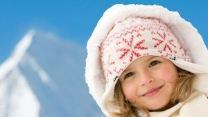 Chapéus de inverno para meninas