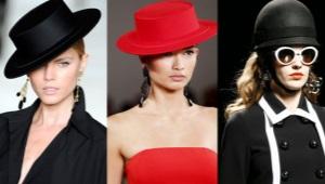 ประเภทของหมวก