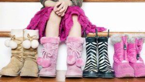 Žiemos batai mergaitėms