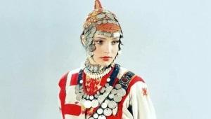 Chuvash nationale kostume