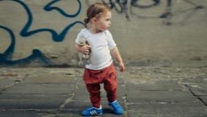 Vaikų velcro sportbačiai