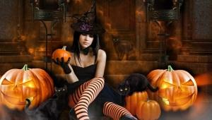 Kostum Halloween untuk Girls
