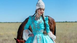 Kasakhiske nationale kostume