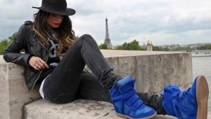 Sininen kengät