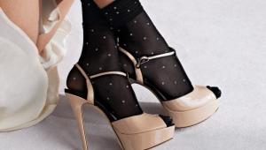 Nylon sokken