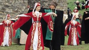 Ossetiske nationale kostume
