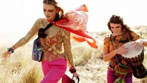 Hippi-tyyli vaatteissa