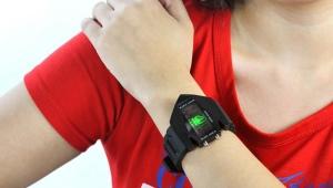 Pols LED-horloge
