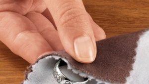 Hoe zilverzout te reinigen?