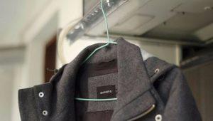 É possível lavar um casaco em uma máquina de lavar roupa?