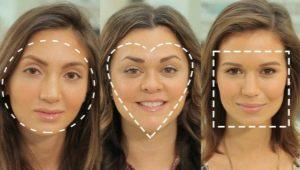 Gezichtsvormen: wat gebeurt er, hoe definieer je je eigen en hoe make-up te kiezen