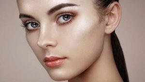 Driehoekige gezichtsvorm: we selecteren kapsels en make-up