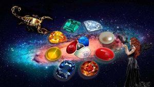 Hoe een steen van Scorpio kiezen?
