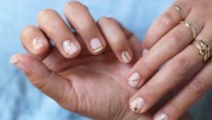 Geometrie op de nagels: opties voor een stijlvol ontwerp en manieren om het te maken