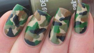 Hoe camouflage manicure maken en regelen?