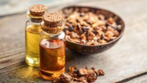 Eigenschappen en methoden voor toepassing van mirre olie