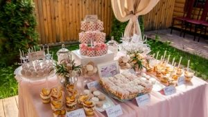 Buffet at the wedding: features and rules of the organization